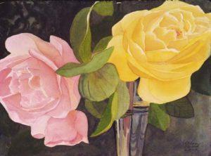pink&yellowroses